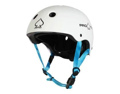 Pro-Tec JR Classic Fit Certified Helmet Gloss White Youth Small